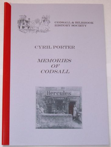 Memories of Codsall, by Cyril Porter